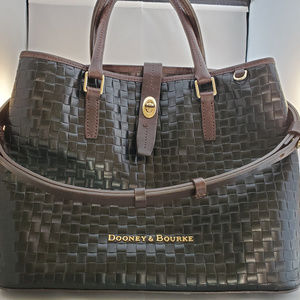 Black Dooney & Bourke Perry Satchel